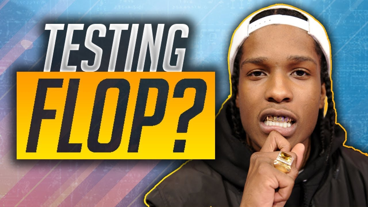 WILL ASAP ROCKY'S NEW ALBUM TESTING FLOP?