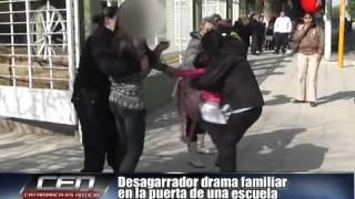 Desagarrador drama familiar en la puerta de una escuela Parte 1