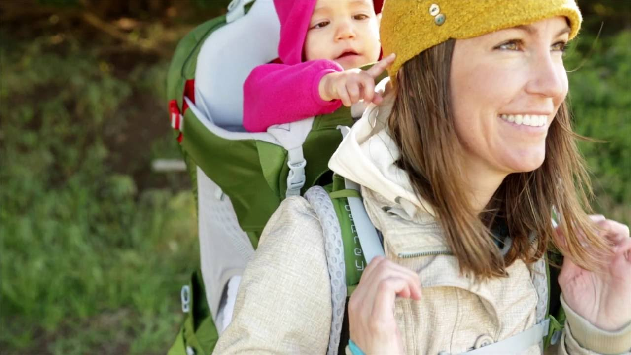 Osprey Packs Fitting The Poco Ag Child Carrier Product Tour