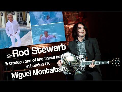 Rod Stewart introduces Miguel Montalban