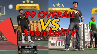 99 OVERALL EXPOSED?😱 DID STROMBOLITV SELL?😱NBA2k19