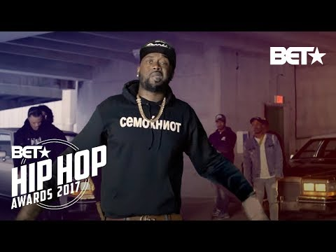 2017 BET Hip Hop Awards Digital Cypher Featured Griselda AND