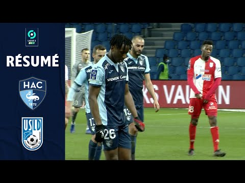 Le Havre Dunkerque Goals And Highlights