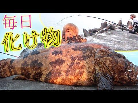 10kgオーバー当たり前!毎日化け物サイズの魚が釣れる![与那国遠征 #2]
