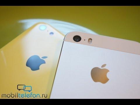 Обзор-сравнение Apple iPhone 5S и iPhone 5C: двое из ларца (review)