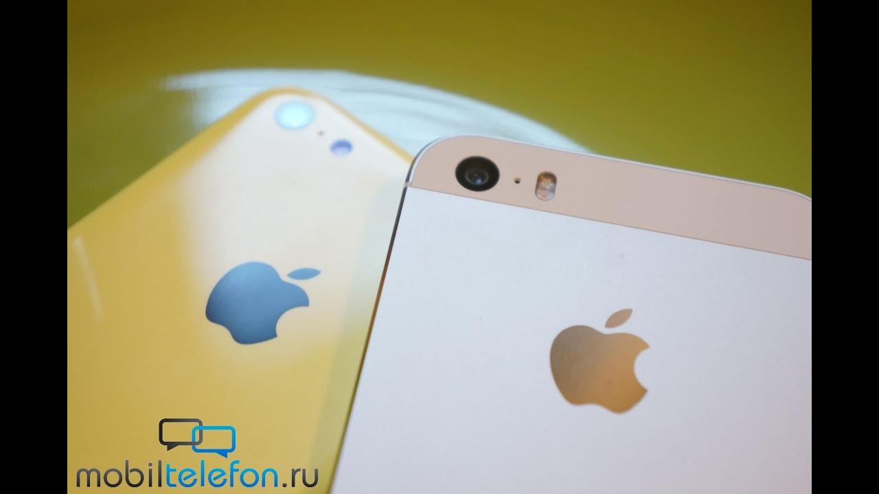 Обзор-сравнение Apple iPhone 5S и 5C: двое из ларца (review)