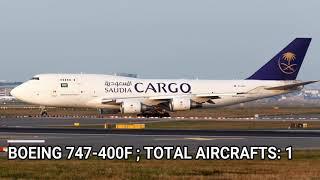 Saudi Arabian Airlines fleet as of November 2017
