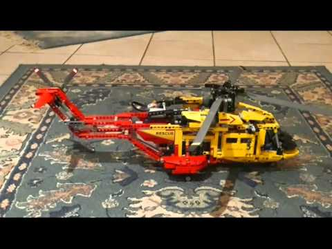 lego technic 9396 elicottero youtube. Black Bedroom Furniture Sets. Home Design Ideas