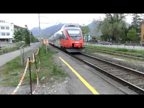 ÖBB Local train@Schaan-Vaduz, Liechtenstein