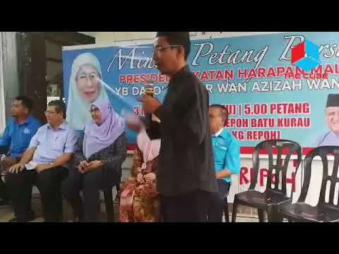 Minum Petang Bersama Presiden Pakatan Dato'Seri Dr Wan Azizah Wan Ismail