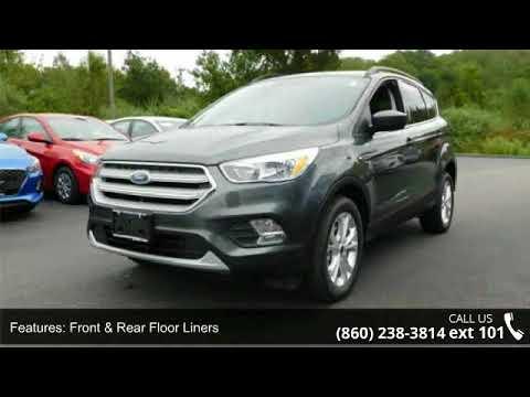 2018 Ford Escape Se Central Auto Group Plainfield Ct