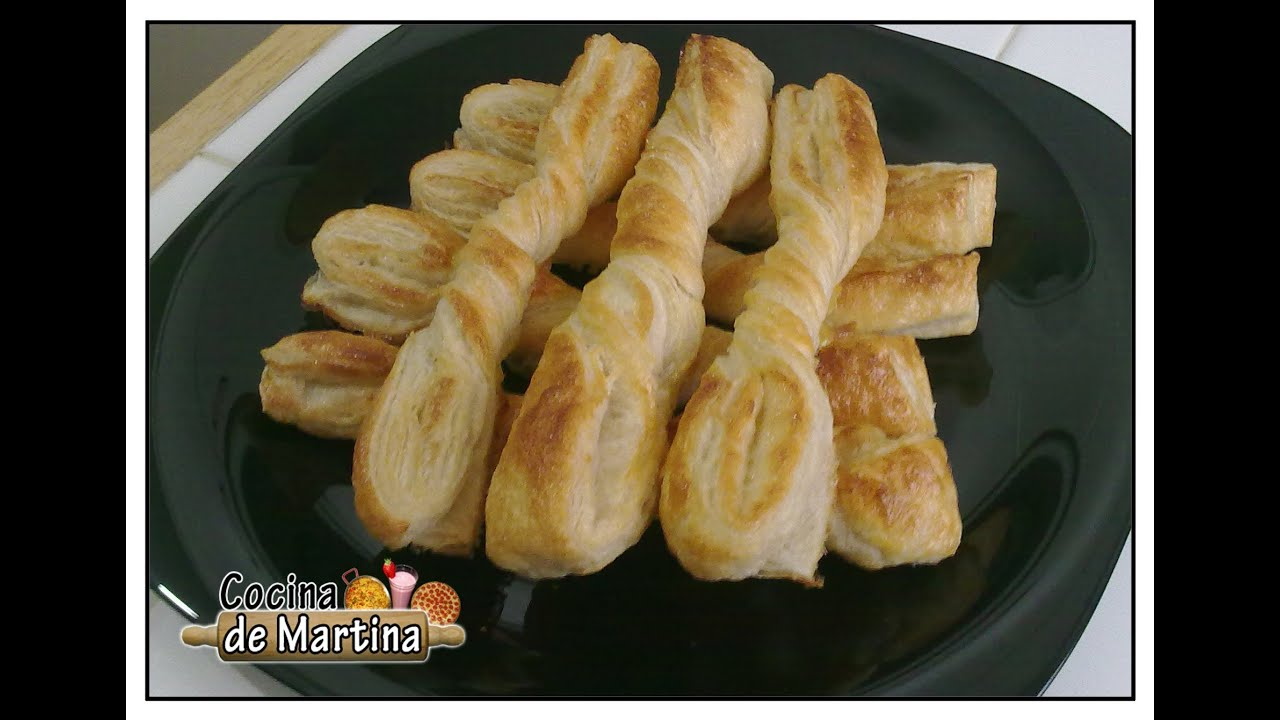 Lazitos de hojaldre recetas de cocina cocina de for Cocina de martina