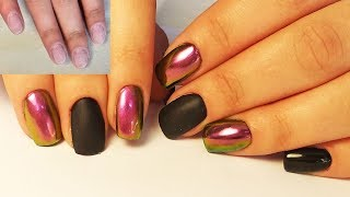❤ НАРАЩИВАНИЕ ногтей АКРИЛАТИКОМ ❤ СOSMOPROFI ❤  ВТИРКА на ногтях ❤ ДИЗАЙН ногтей гель лаком ❤