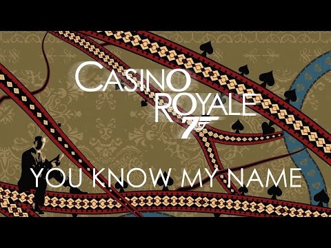 Casino Royale - Chris Cornell - You Know My Name poster