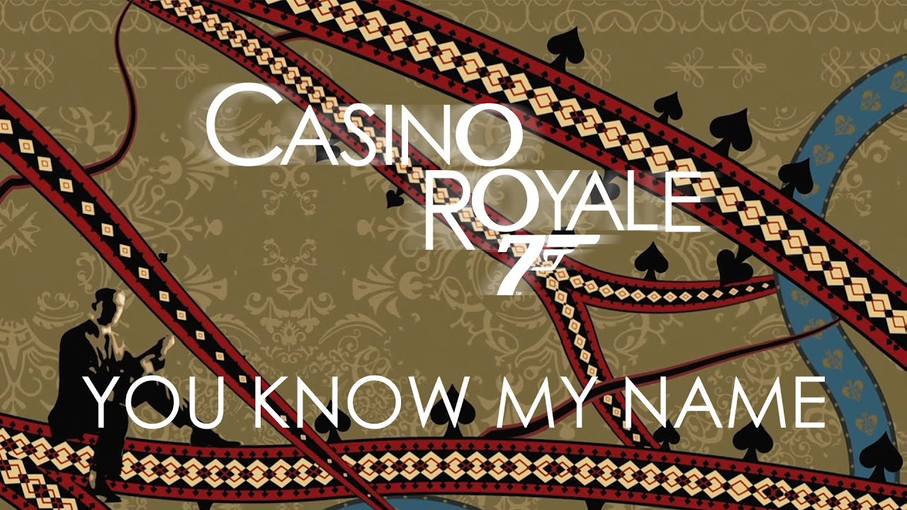 chris cornell casino royale you know my name