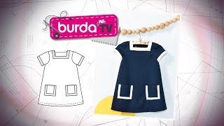 burda na tv 111   vida com arte   vestido infantil