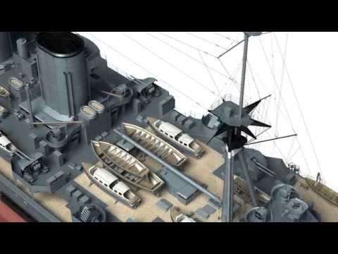 Battlecruiser HMS Hood in 3D - Kagero Publishing's book by Stefan Dramiński