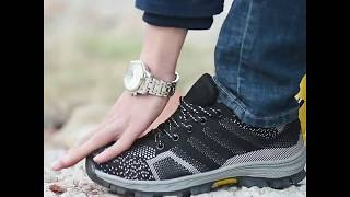 """Men's Breathable """"Trail Blazer"""" Indestructible Shoes for Hikers, Backpackers, and Campers"""