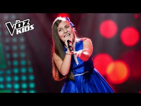 Danna Camila canta Ódiame - Audiciones a ciegas | La Voz Kids Colombia 2018