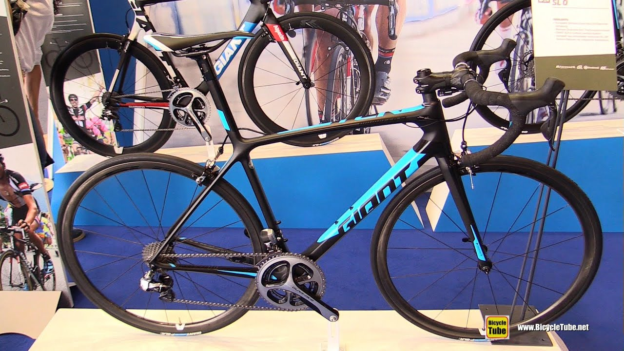 2016 Giant TCR Advanced SL O Road Bike - Walkaround - 2015 Eurobike - YouTube