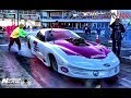 David Bird Jones vs Larry Baker s twin turbo impala at Redemption 10.0