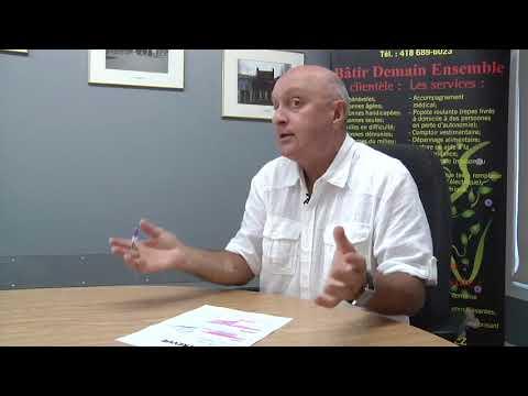 Jacques Langelier nous parle du Service d'informations aux aînés et comptoir vestimentaire
