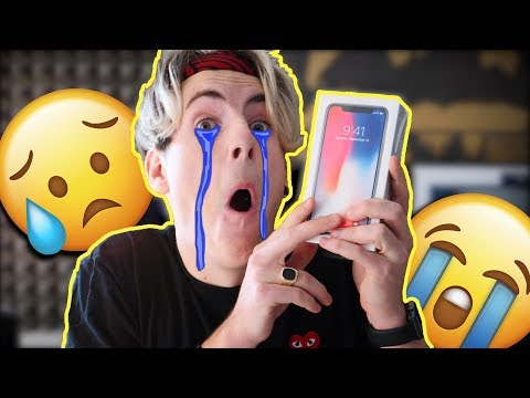 iPhone X ma sklamal 😢