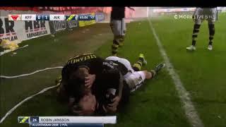 Robin Jansson Guldmål, AIK - Kalmar ff, SM GULD
