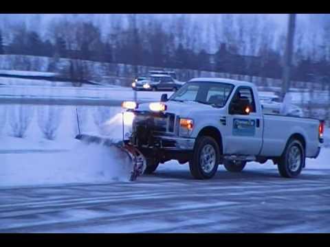 Western Plow Plumbing Riser Diagram Symbols 2008 F250 Superduty Plowing Snow - Youtube