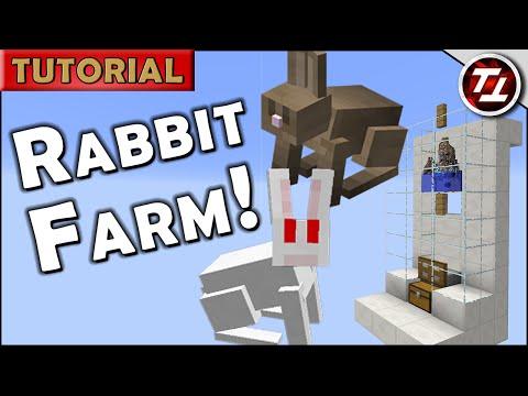 Minecraft Tutorial: Rabbit Farm!