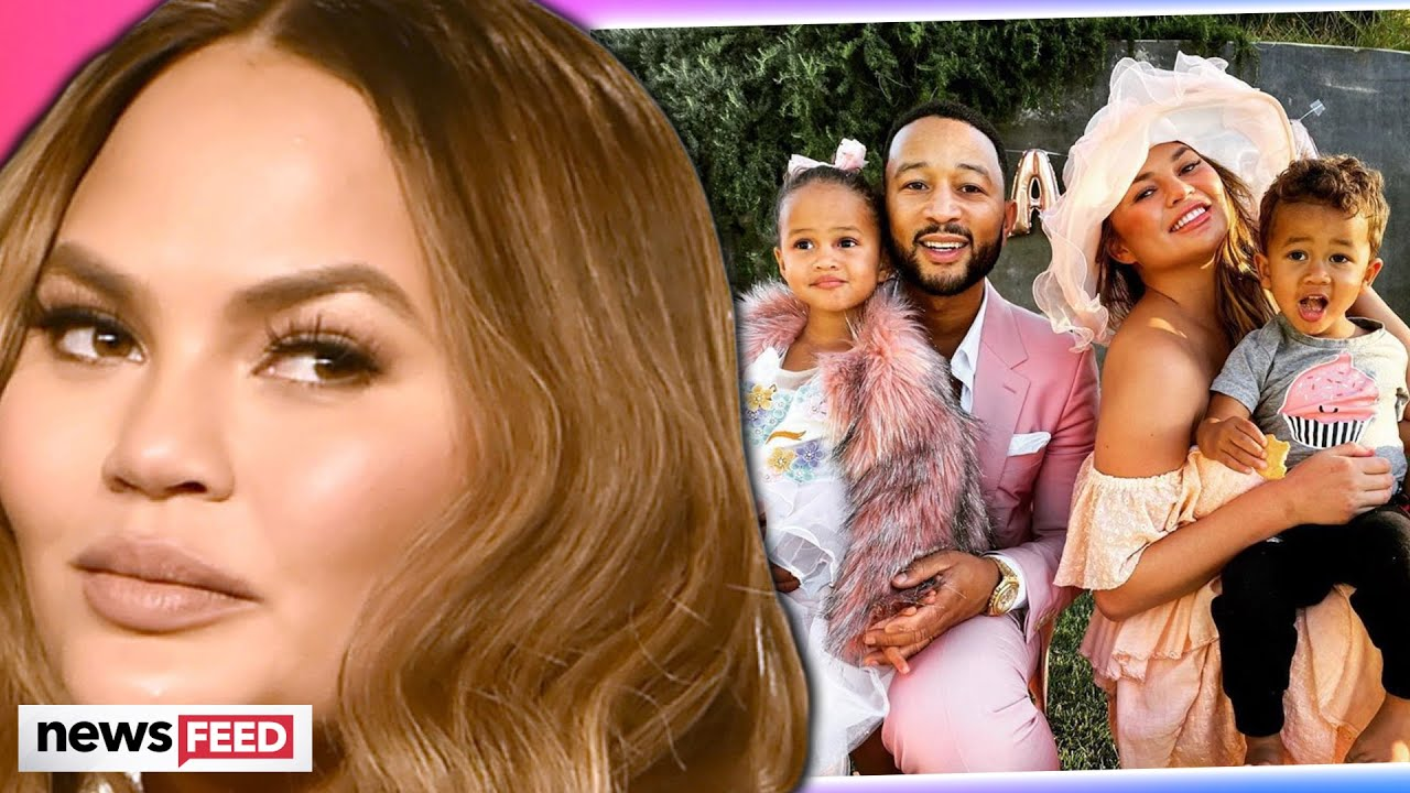 Chrissy Teigen FEARS For Her Family After Twitter Threats!