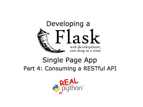 Flask Live Coding Session - Part 4