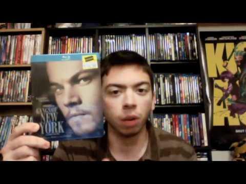 Gangs Of New York Blu-ray Steelbook Unboxing