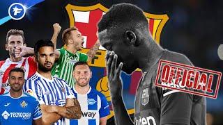 OFFICIEL : Ousmane Dembélé absent 6 mois, le Barça cherche son remplaçant | Revue de presse