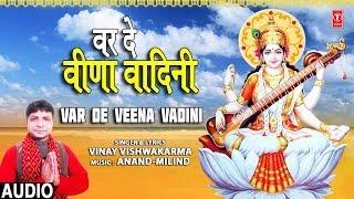 वर दे वीणा वादिनी Var De Veena Vadini I VINAY VISHWAKARMA I Saraswati Bhajan I Full Audio Song
