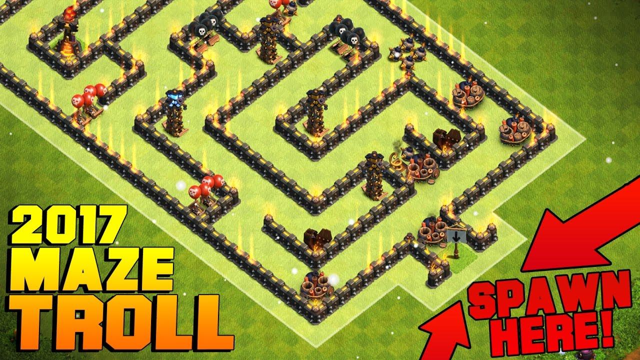 Maze Coc Th11 Farming Base 7