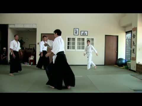 Aikido Training Video At Tarzana Aikikai Youtube