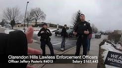 Police harassment - Clarendon Hills IL