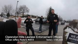 Police harassment - Clarendon Hills IL