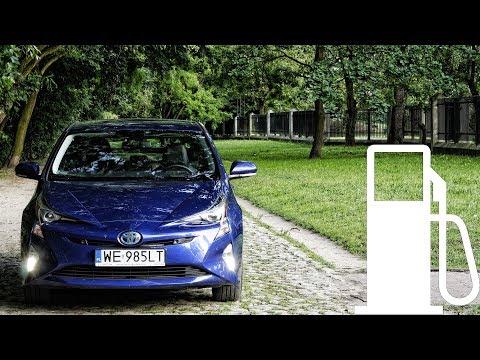 Toyota Prius Hybrid - fuel consumption: city, 90, 120, 140 km/h :: [1001cars]