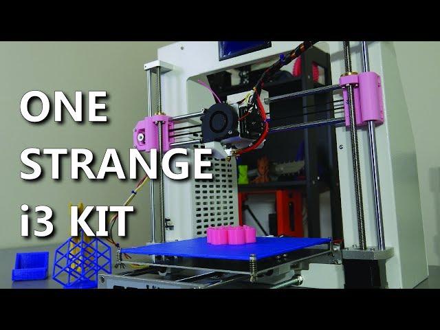 JGAurora A3 3D Printer Review - One strange i3 kit!