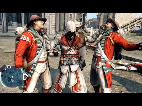 Assassin's Creed 3 Rampage with Connor In Ezio`s Outfit