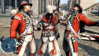 Assassin S Creed 3 Rampage With Connor In Ezio S Outfit