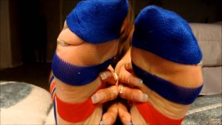 Peekaboo Sock Play