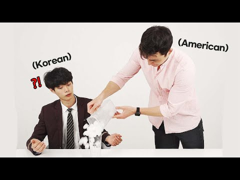 Weird Things AMERICANS Do?! (Korean Teen & American Reaction)