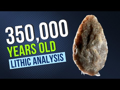#HomininTraces : Middle Palaeolithic Richmond Handaxe ~ Episode 1