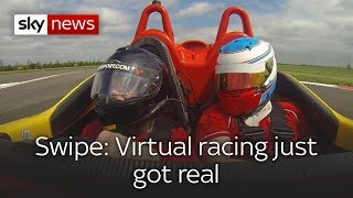 Swipe: Virtual racing gets real & how AR 'Zapping' affects our brains