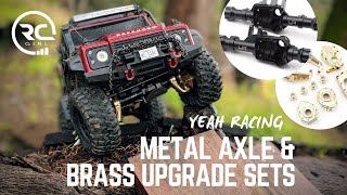 SHOULD YOU WEIGHT YOUR TRX-4??  |  Yeah Racing Metal Axle & Brass Upgrade Sets
