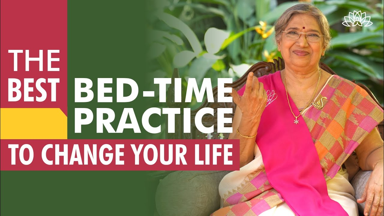 The best bed-time practice to change your personality | Dr. Hansaji Yogendra