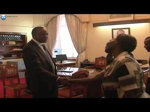 'Otonglo' Daniel Owira meets President Uhuru